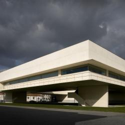 Biblioteca Municipal   Álvaro Siza Vieira   Viana do Castelo   © Fernando Guerra