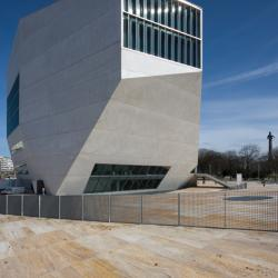 Volumetria da Casa da Música | OMA | Porto |  Luís Ferreira Alves
