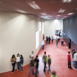 Interior da Escola Secundária D. Dinis | Bak Gordon | Lisboa |  Leonardo Finotti