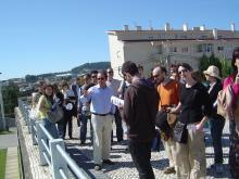Visita com o arquiteto José Fernando Gonçalves