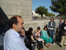 Visita com o arquitecto José Fernando Gonçalves